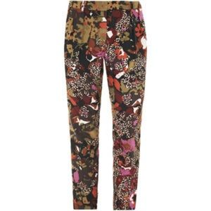 NWT Max Mara Olea pants trouser multi color